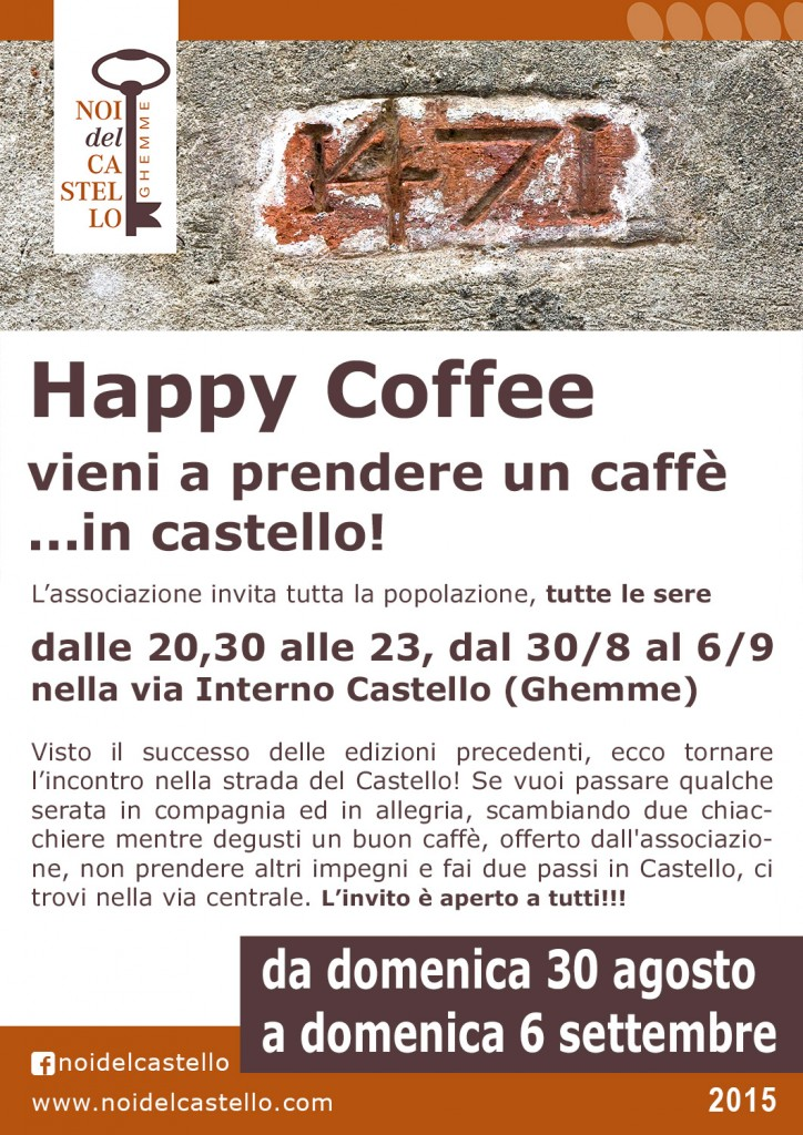 happy coffee 2015 generale 1500