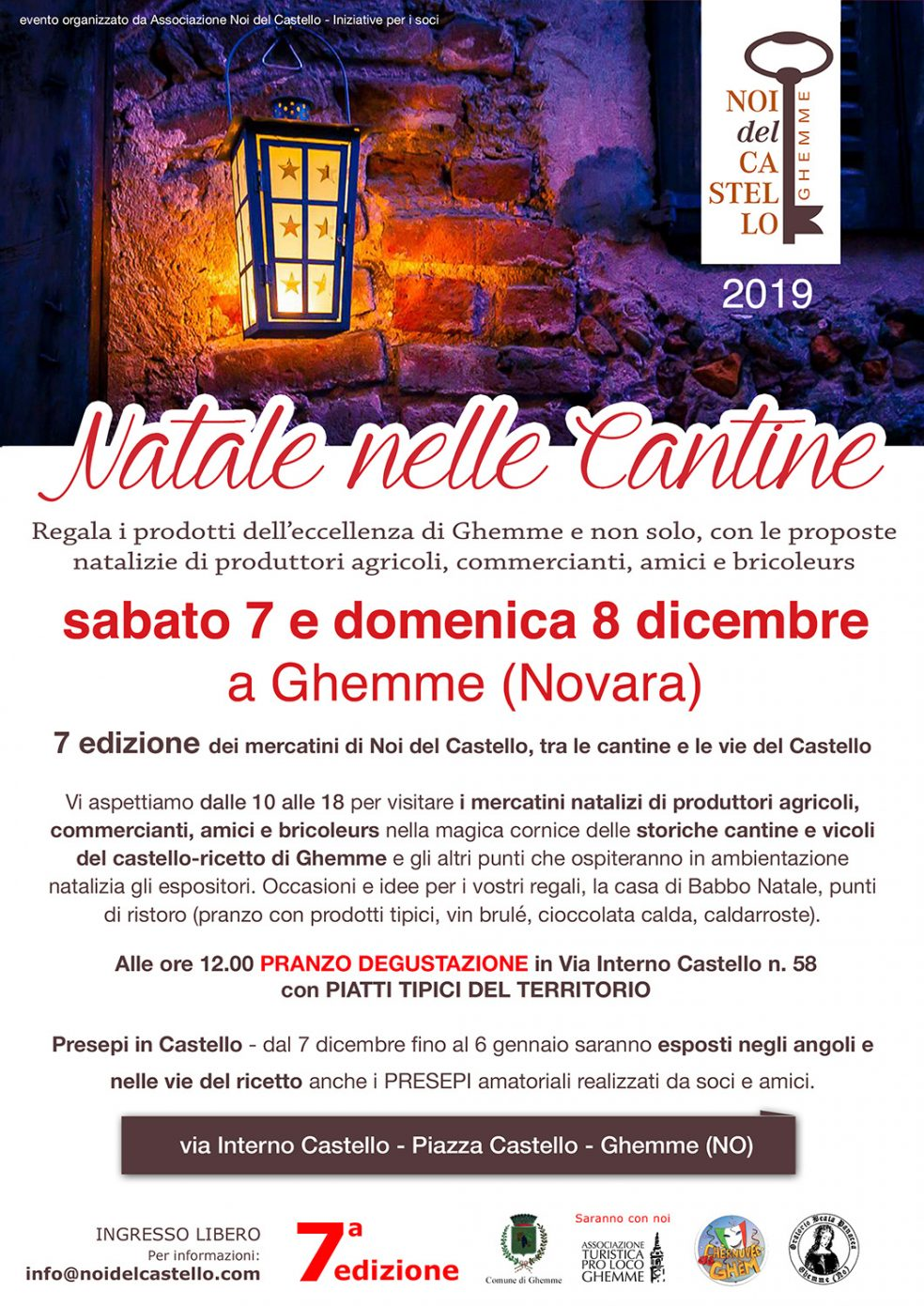 Natale nelle Cantine 2019 Ghemme